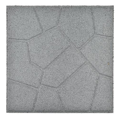 Beautiful Rubber Patio Paver Tile Full Reverse.