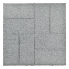 Rubber Patio Paver Tile