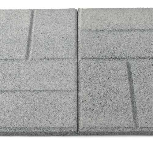 Awesome Rubber Patio Paver Tile Interlock.