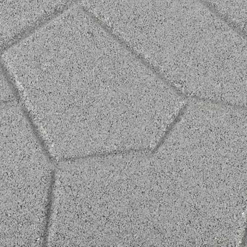 Rubber Patio Paver Tile Reverse Close.