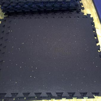 Economy Rubber Floor Tiles Interlocking Rubber Utility