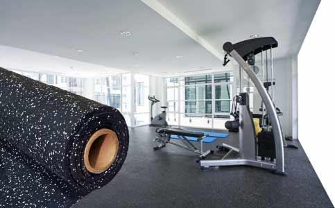 Rubber Flooring Foam Exercise Gym Mats Dance Floor