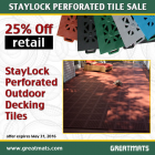 StayLock Perforated Colors