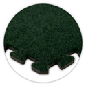 SoftCarpet Tile color swatch emerald green.