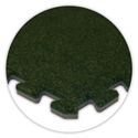 SoftCarpet Tile color swatch grass green.