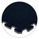 SoftCarpet Tile color swatch navy blue.