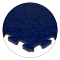 SoftCarpet Tile color swatch royal blue.