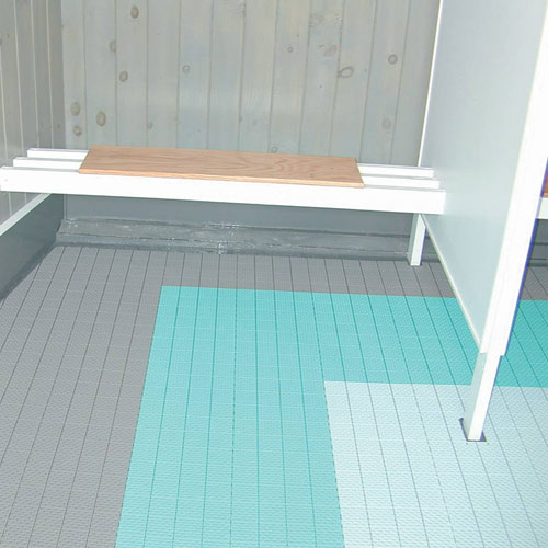 SoftFlex Floor Tile Modular Soft Plastic Wet Area Floor Tile