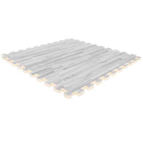 SoftWood Interlocking Foam Tiles - Wood Grain Foam