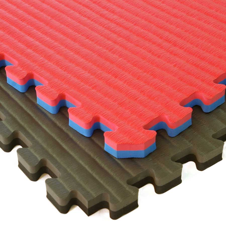 Sport Foam Tiles Tatami Showing Corner Of Two Tiles