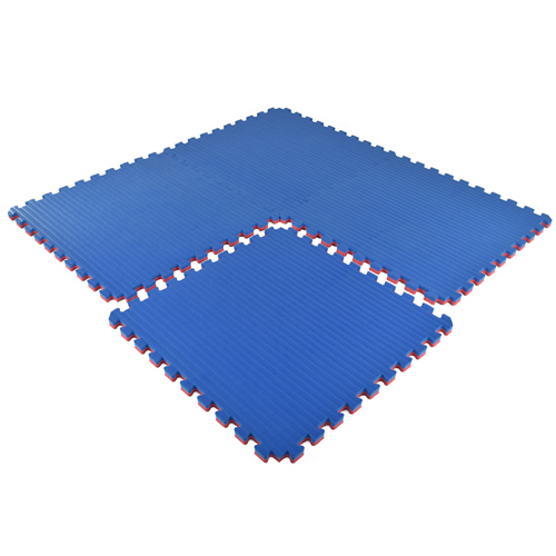 Home Tatami Sport Tile 7/8 Inch blue 4 tiles.