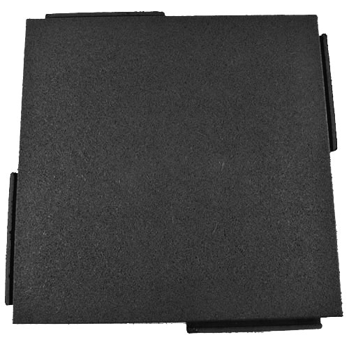 Sterling Playground Tile 2.25 Inch Black Tile.