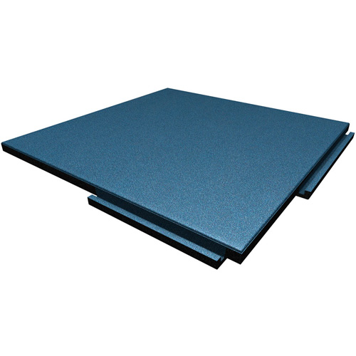 Sterling Playground Tile 2.25 Inch Blue/Gray/Brown blue tile.
