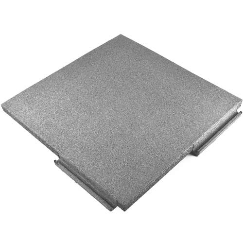 Sterling Playground Tile 2.25 Inch Blue/Gray/Brown full angled.