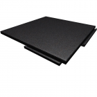 Sterling Athletic Rubber Tile 1.25 Inch Black