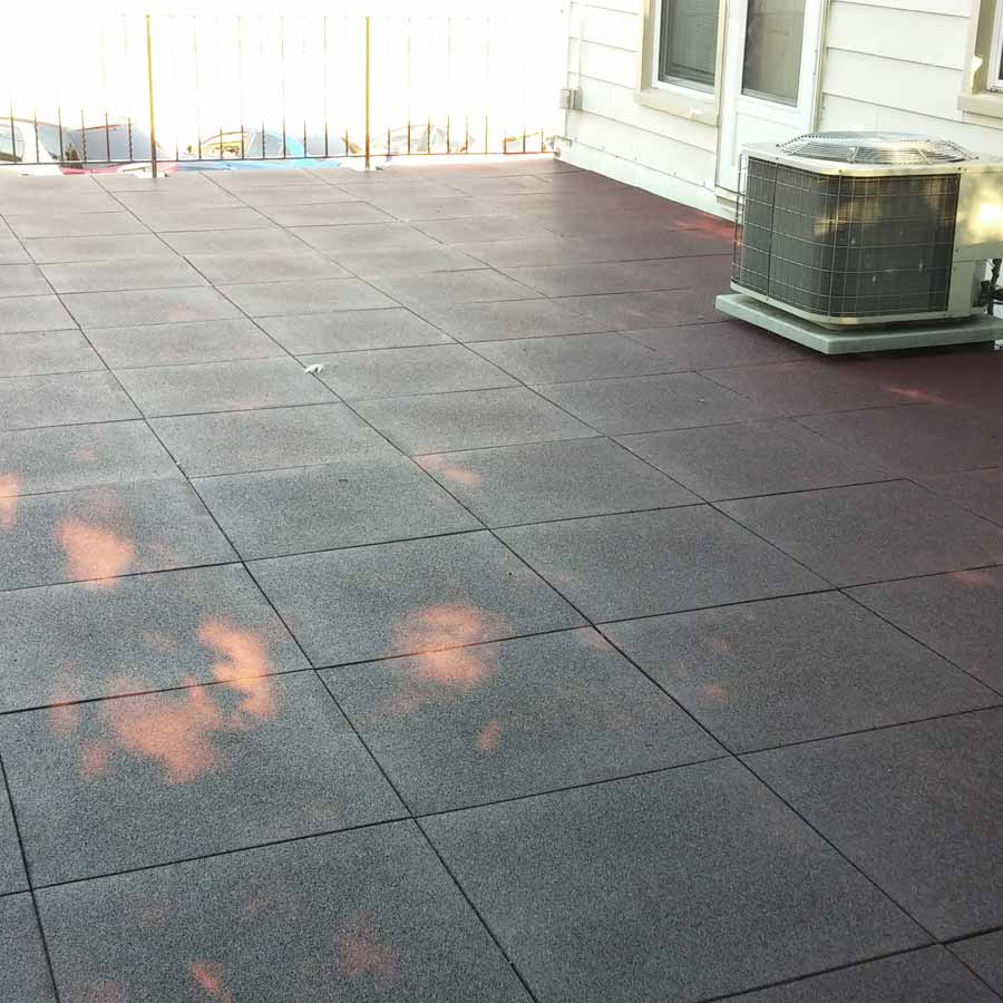Sterling Roof Top Tile 2 Inch Terra Cotta Deck