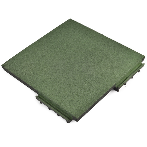 Sterling Playground Tile 3.25 Inch Green full angled.