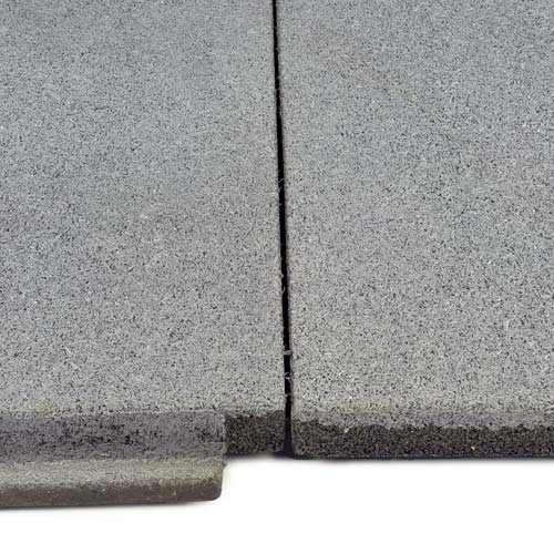 Sterling Roof Top Tile 2 Inch Gray 2 tiles close.