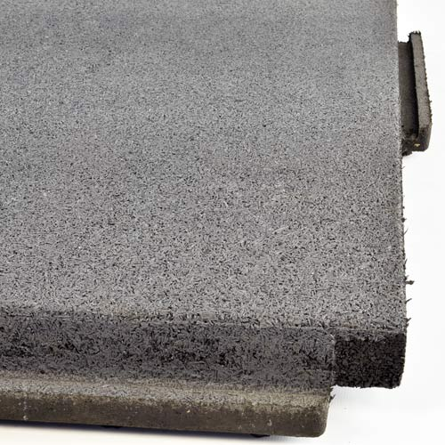 Patio Rubber Floor Tile Gray Sterling Patio Flooring 2 Inch