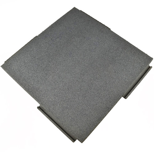 Sterling Roof Top Inch Gray rubber tiles.