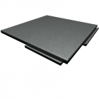 Sterling Athletic Rubber Tile 1.25 Inch Gray