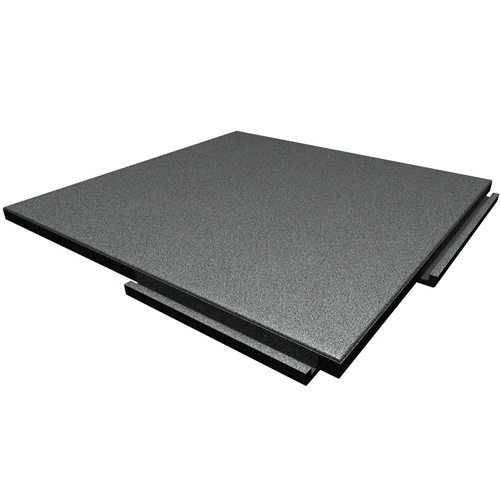 High Quality Rubber Patio Tile For Outside With Non Slip Surface