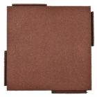 Sterling Playground Tile 2.25 Inch Terra Cotta