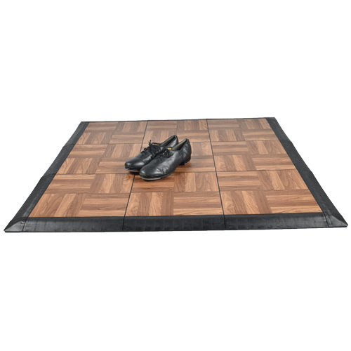 Great Tap Dance Floor Kit 9 Tiles Tap Shoes.