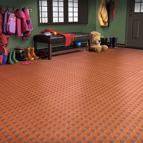 Techfloor Premium Flow Thru Garage Floor Tile Traction Tiles