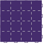TechFloor Smooth Surface with Flow Thru Garage Floor Tile Carton of 10
