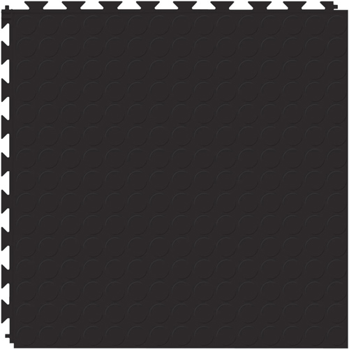 Tuff-Seal Floor Tile Black stud black full tile.