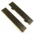Entrance Tile Border Black 2.5 Inch