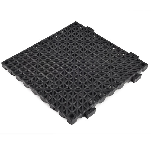 perforated tile heavy duty 34 inch black angle
