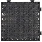 Perforated Tile - Heavy Duty - 3/4 Inch Black