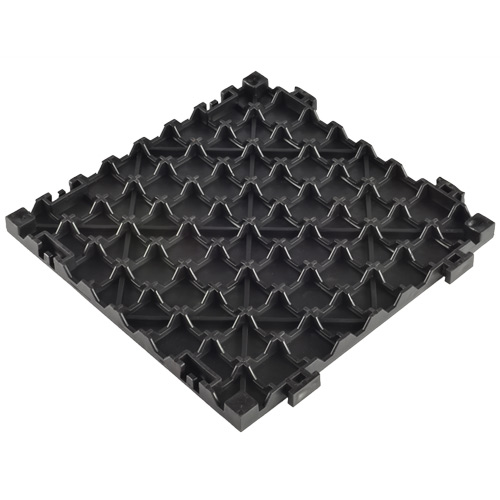 Solid Surface Triangle Top Tile - 3/4 Inch Black back