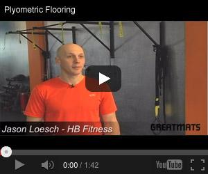 HB Fitness Plyometric Flooring