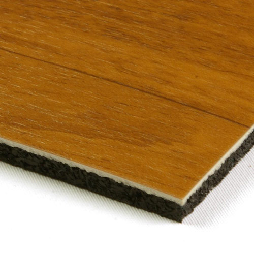 Bounce Athletic Vinyl Padded Floor Wood Look Vinyl Court