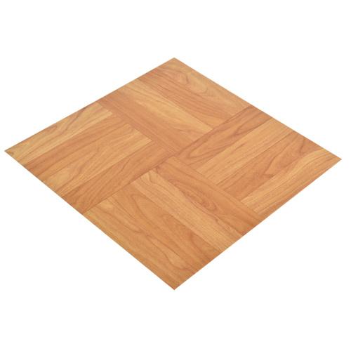 Vinyl L And Stick Light Oak Floor Tile 12x12 In 36 Per Carton Angle