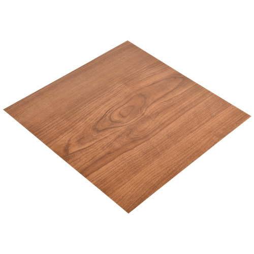 Peel And Stick Vinyl Tile In Walnut Wood Grain Look