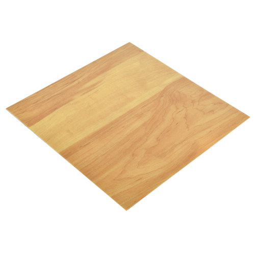 Vinyl Peel and Stick Gym Hardwood Floor Tile 12x12 In. 36 per Carton angle