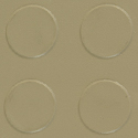 Coin Top PVC Interlocking beige swatch.