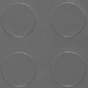 Warehouse Coin PVC Tile dark gray swatch.