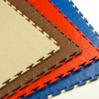 PVC Coin Tile Interlocking Colors Ever