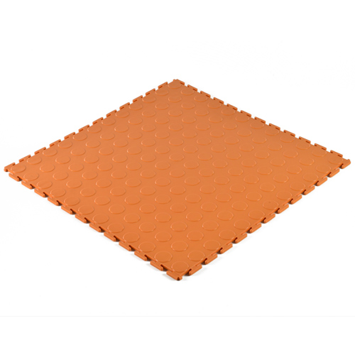PVC Coin Tile Interlocking Colors Ever full angled.