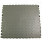 Warehouse Floor Coin PVC Tile Gray Ever