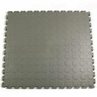 Warehouse Floor Coin PVC Tile Gray Ever