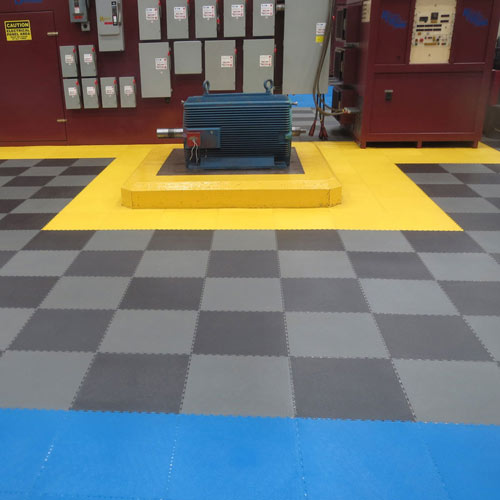Warehouse Flooring Pvc Coin Top Industrial Tiles
