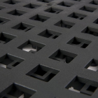ErgoDeck HD Open Black 18 x 18 Inch Tile