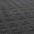 ErgoDeck HD Solid Black with Gritshield 18 x 18 Inch Tile