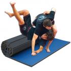 Workout Mat 5x10 Ft x 1.25 Inch Roll Out Mat